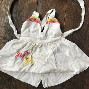 Vintage Pinafore Dress/ Top 2t/ 3t